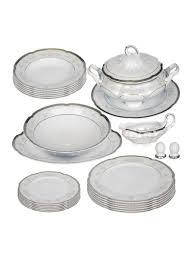 <b>Столовый сервиз</b> Bolero (серебряный декор) 25 предметов ...