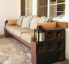 Then, think about the color of the base. Diy Cinder Block Bench In The Garden Creative Ideas For Your Patio