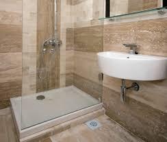 image of travertine tile bathroom ideas