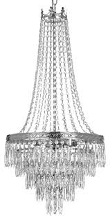 french empire crystal chandelier chandelier silver 3 0x17