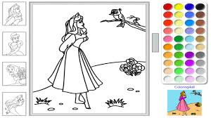 Small Picture Free Disney Princess Online Coloring Pages Disney Princess