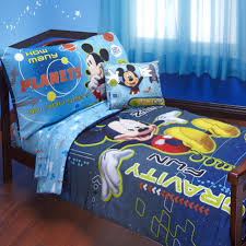 mickey mouse space toddler bedding