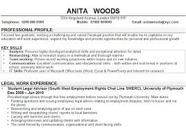 Example of cv for job   Writing And Editing Services