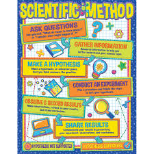 Scientific Chart Color My World Scientific Method Chart