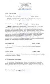 General Labor Resume Templates Resume Template General Labor Krida 18