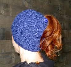 Ponytail Hat Knitting Pattern New Knit Ponytail Hat Patterns Ponytail Knitting Patterns And Patterns