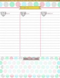 free daily calendar 2015 awe inspiring weekly daily calendar and schedule template v m d com
