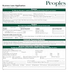 Loan Application Form Template Car Chaseevents Co