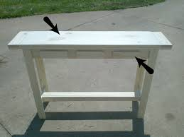 front entry table. Bourne Southern | The Blog: DIY Entry Table Under $30 Front R