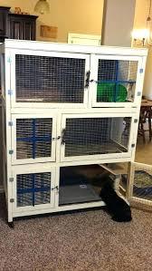 diy rabbit cage indoor rabbit hutch indoor rabbit cage inspirational cream colored three story indoor rabbit