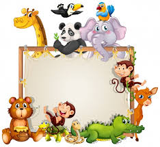 border frame design with cute s