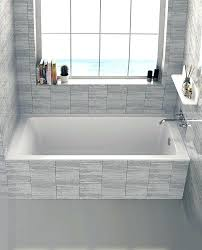 best alcove bathtub top fine fixtures drop in or alcove x soaking bathtub reviews pertaining to