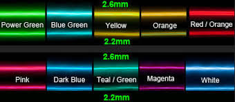 10 color choice 0 9mm purple el wire rope tube flexible neon light 10 color choice 0 9mm purple el wire rope tube flexible neon light not include the