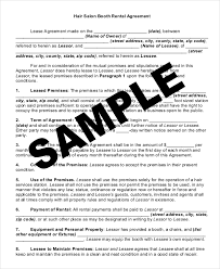lease agreement sample 19 rental lease agreement free sample example format download