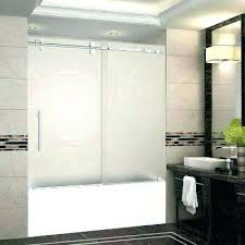 glass tub enclosures bathtub door doors home depot toronto