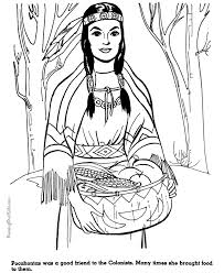 Small Picture Pocahontas coloring pages 010