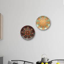 mughal decorative wall plates