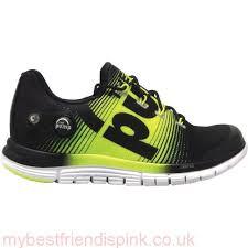 reebok shoes 2016. 2016 reebok zpump fusion women\u0027s running shoes black/yellow warren