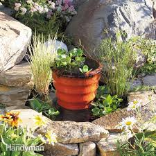 how to build a pond fountain in one day family handyman