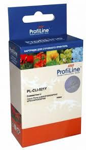 <b>Картридж</b> струйный ProfiLine PL-<b>CLI</b>-<b>521Y</b>-Y PL_CLI-521Y_Y ...
