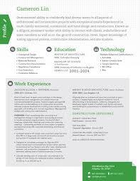 Resume Template True Scout Green Loft Resumes