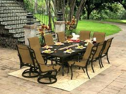 interior revealing dining table with fire pit patio furniture outdoor swivel chairs and dining