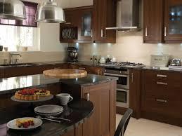 Brown Kitchens Designs Pleasureable Brown Kitchen Designs With Walnut Kitchen Cabinets