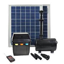 Solar Water Pump Kit With Led Lights Details About Asc 16 Watt Solar Power Water Pump Kit With Battery Timer Control Led Lights