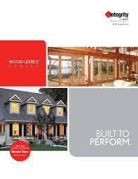 Integrity Wood Ultrex Catalog By Window Design Center Issuu