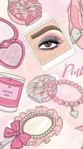 Pink Makeup Wallpaper Tumblr