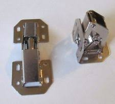 surface mount cabinet hinges. 2 nickel plated self closing 90-degree surface mount spring cabinet door hinge hinges
