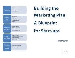 Building The Start Up Marketing Plan