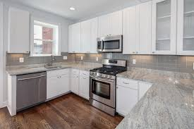 58 White Countertops With White Cabinets Pictures Of Kitchens With