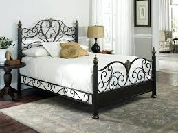Antique Iron Beds Queen Size Wrought Bed Frame King Frames ...