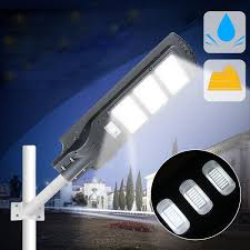 Sensors Used In Street Lights 40w 80w 120w Solar Street Light Pir Motion Sensor Led Outdoor Garden P Ath Wall Lamp