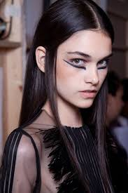undereye liner avantgarde highfashion graphic makeup makeups hair
