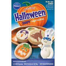 pillsbury halloween sugar cookies. Pillsbury Halloween Shaped Sugar Cookies 11 Oz From Wholesale Club Instacart Throughout