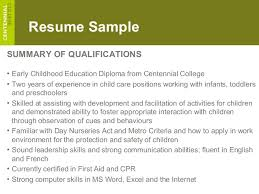 Early Childhood Resume Gorgeous Rc Ece 48
