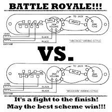 tele wiring battle royale vintage vs modern lollar pickups blog battle royale