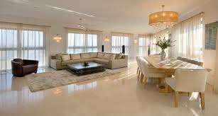 My living roomdining room have pure white porcelain tiles they