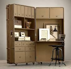 restoration hardware trunk desk antique trunk hardware catalog