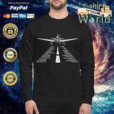 Nato phonetic alphabet, aviation decor, pilot gift, boys room decor, gift for him, morse code, military decor 26 code words assigned to the 26 letters of the english alphabet. Aviation Phonetic Alphabet With Jet Airplane Shirt Hoodie Sweater And V Neck T Shirt