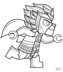 Small Picture Lego Chima Laval coloring page Free Printable Coloring Pages