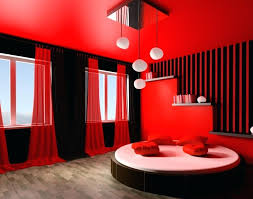 Red And Black Bedroom Ideas Inspiration Of Romantic Red And Black ...