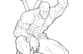 Coloring Pages Of Deadpool Coloring Pages Best Coloring Pages