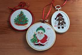 Cross Stitch Christmas Ornaments Patterns Free Magnificent Inspiration