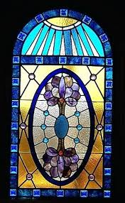 stained glass window design by designs home