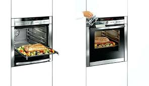 oven with slide under door small bosch oven sliding door