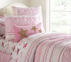 pink quilt bedding. Simple Pink Brigette Ruffle Quilted Bed Linen Pink To Quilt Bedding R