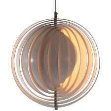 the moon lamp by verner panton for louis poulsen for
